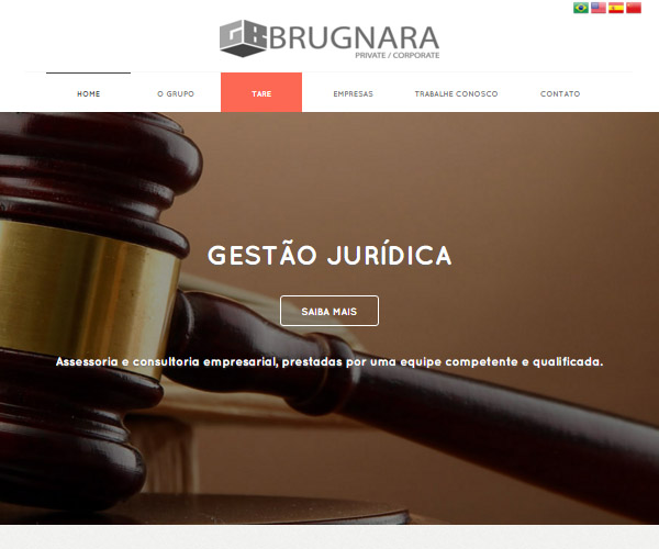Website Grupo Brugnara